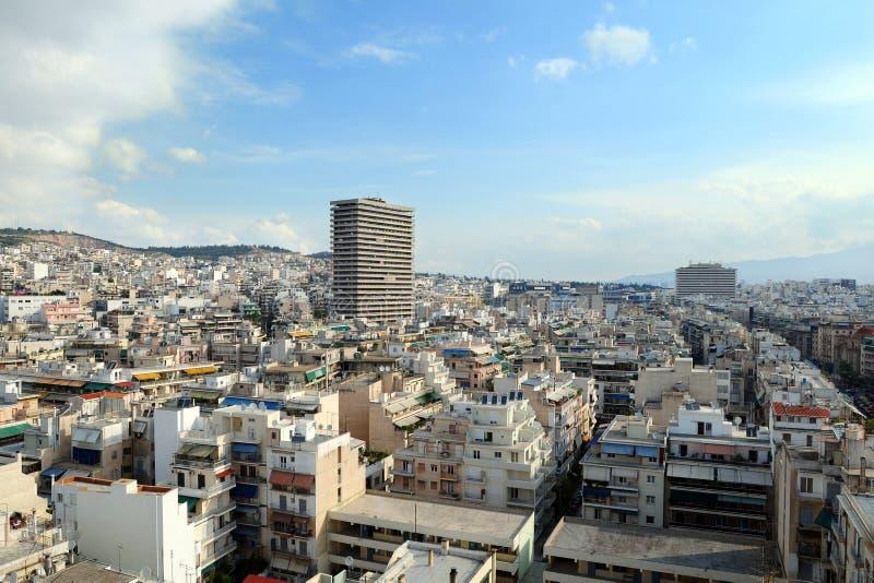 πανόραμα της Αθήνας στοκ φωτογραφία