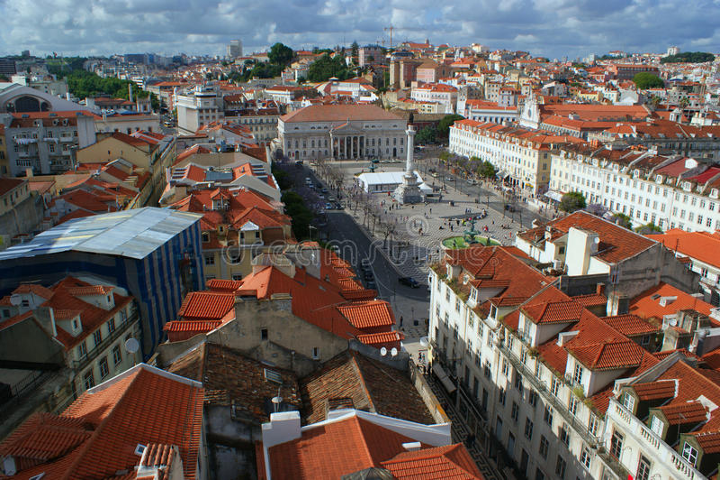 πανόραμα της Λισσαβώνας στοκ εικόνες με δικαίωμα ελεύθερης χρήσης