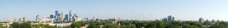 πανόραμα της Μινεάπολη στοκ εικόνες