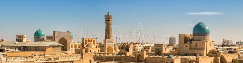 Πανόραμα της Μπουχάρα στοκ φωτογραφίες με δικαίωμα ελεύθερης χρήσης