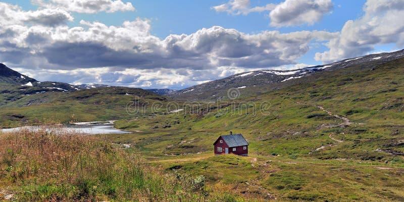 πανόραμα της Νορβηγίας vikafjell στοκ εικόνες