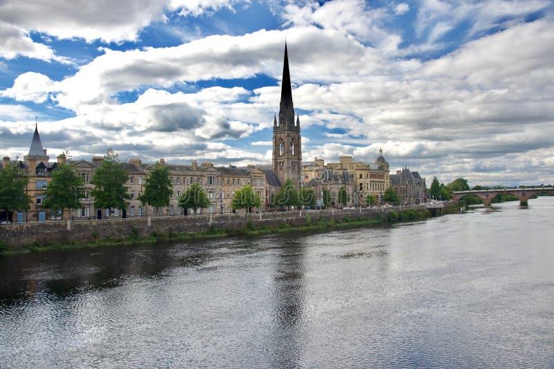 Πανόραμα της πόλης του Περθ στοκ φωτογραφία με δικαίωμα ελεύθερης χρήσης