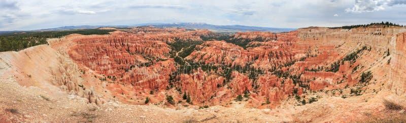Πανόραμα του εθνικού πάρκου φαραγγιών του Bryce, Γιούτα, ΗΠΑ στοκ φωτογραφία με δικαίωμα ελεύθερης χρήσης