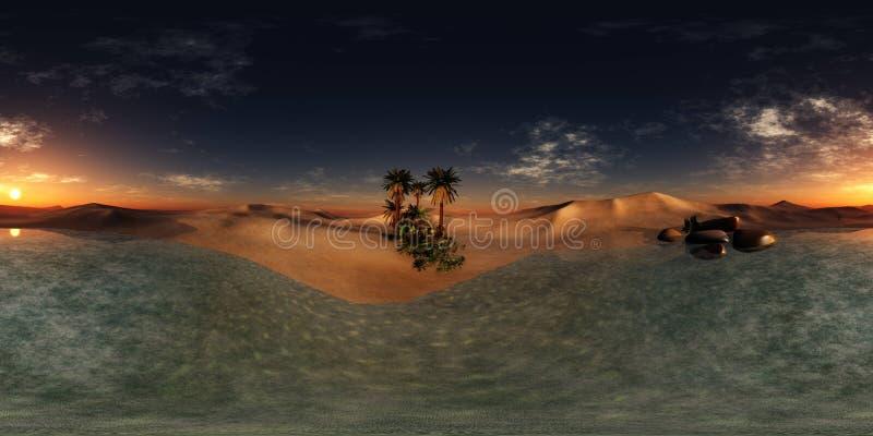 Πανόραμα του ηλιοβασιλέματος εν πλω, ωκεάνια ανατολή ελεύθερη απεικόνιση δικαιώματος