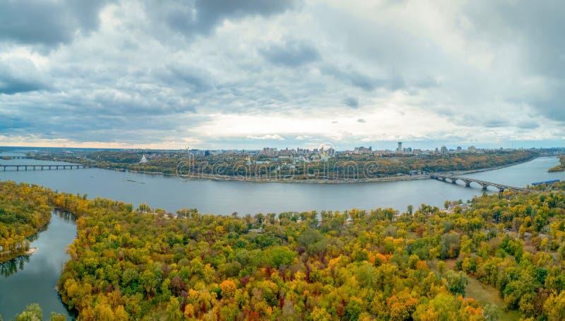 Πανόραμα του Κιέβου στοκ φωτογραφίες