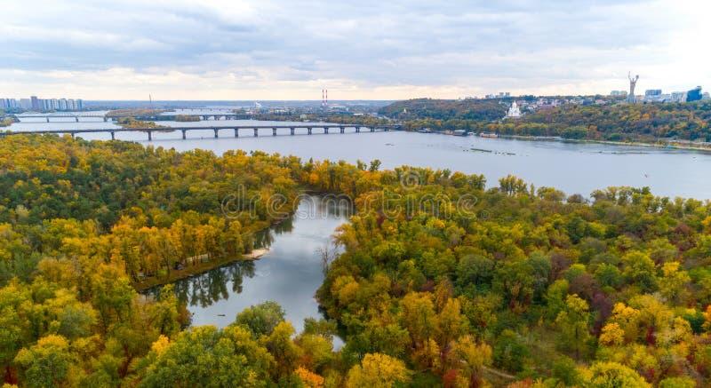 Πανόραμα του Κιέβου στοκ εικόνες