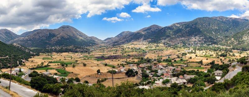 Πανόραμα του νησιού της Κρήτης στοκ φωτογραφίες με δικαίωμα ελεύθερης χρήσης