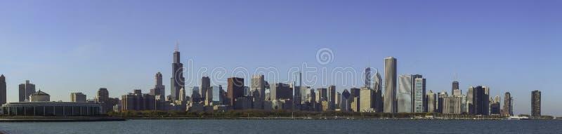 Πανόραμα του Σικάγου στοκ εικόνες με δικαίωμα ελεύθερης χρήσης