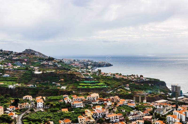 Πανόραμα του Φουνκάλ στο νησί της Μαδέρας, Πορτογαλία στοκ εικόνες με δικαίωμα ελεύθερης χρήσης