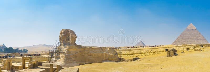 Πανόραμα Giza στοκ εικόνα με δικαίωμα ελεύθερης χρήσης