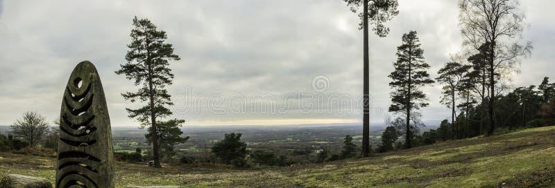 Πανόραμα Hill της Leith στοκ εικόνα