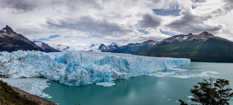 Πανόραμα Perito Moreno Glacier στην Παταγωνία - EL Calafate, Αργεντινή στοκ εικόνες με δικαίωμα ελεύθερης χρήσης