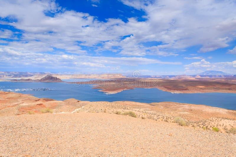 Πανόραμα Powell λιμνών στοκ εικόνες