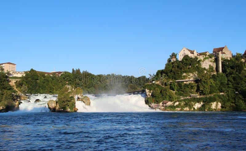 Πανόραμα Rhinefall, Ελβετία στοκ εικόνες