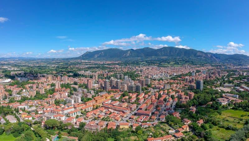 Πανόραμα Terni, Ουμβρία, Ιταλία στοκ εικόνες με δικαίωμα ελεύθερης χρήσης