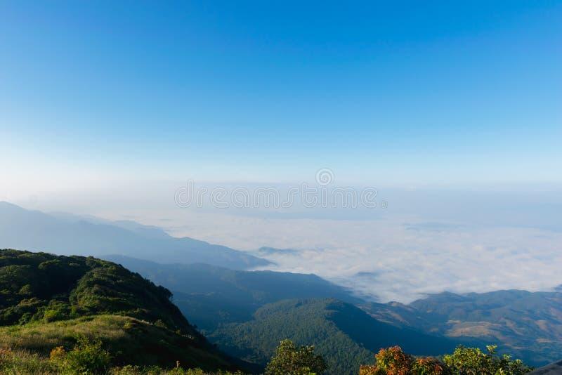 Παν ίχνος Chiang Mai φύσης βουνών της Mae Kew στοκ εικόνες