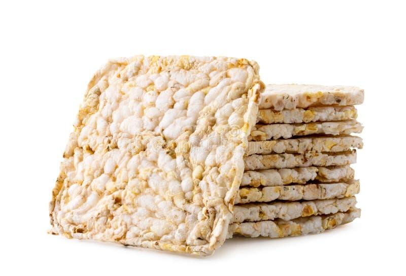 Παξιμάδια σιταριού σε ένα άσπρο υπόβαθρο   στοκ εικόνα με δικαίωμα ελεύθερης χρήσης