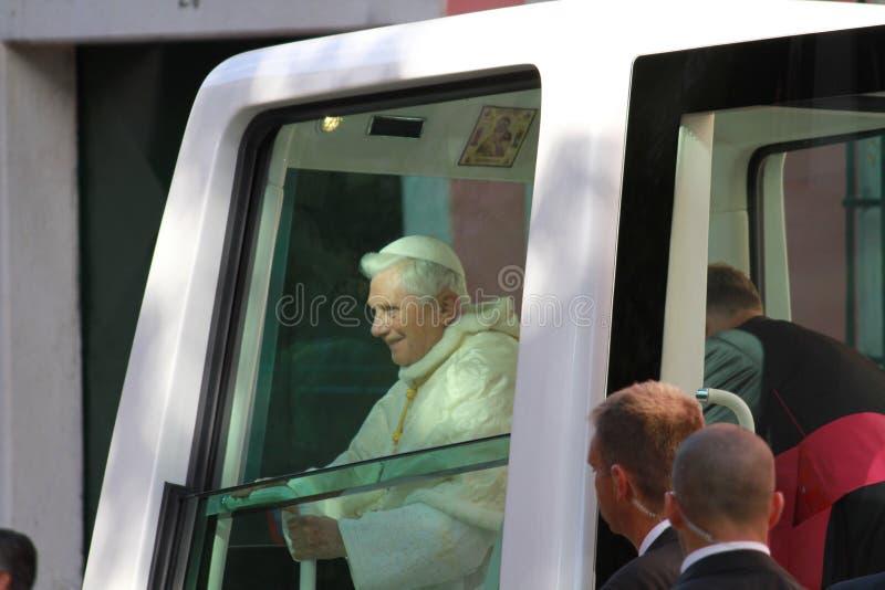 παπάς XVI του Benedict στοκ εικόνες με δικαίωμα ελεύθερης χρήσης