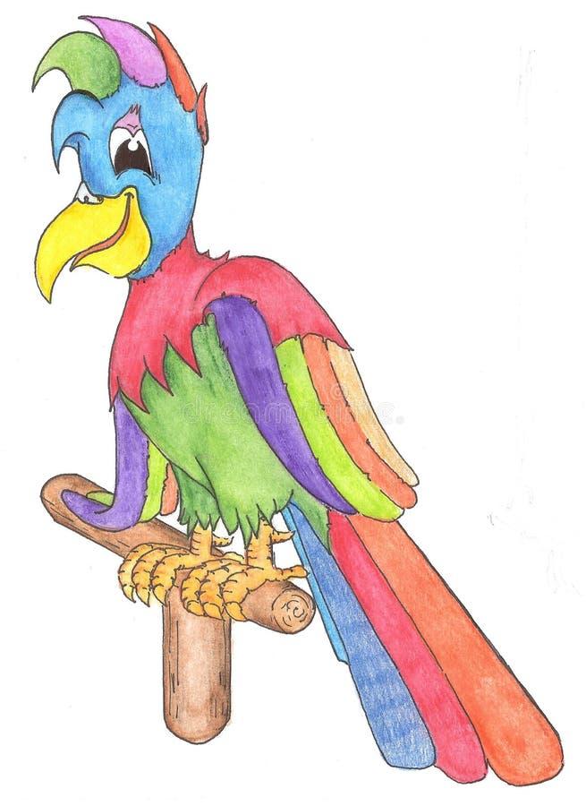 παπαγάλος ελεύθερη απεικόνιση δικαιώματος