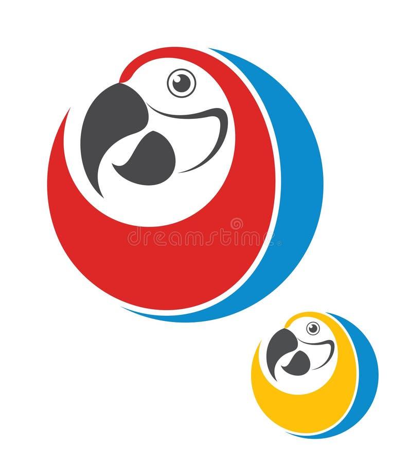 παπαγάλος Αφηρημένο πουλί ελεύθερη απεικόνιση δικαιώματος