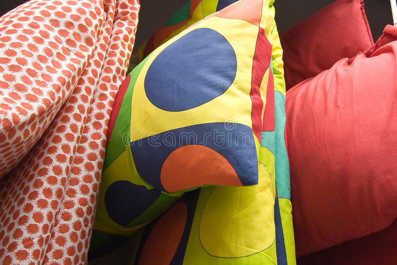 παπλώματα μαξιλαριών στοκ φωτογραφία με δικαίωμα ελεύθερης χρήσης