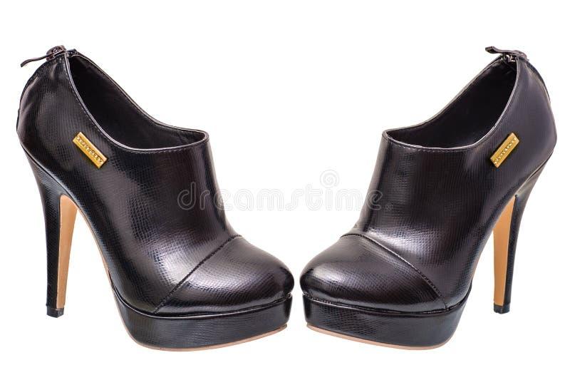 Παπούτσια γυναικών σε ένα υψηλό τακούνι στοκ φωτογραφία με δικαίωμα ελεύθερης χρήσης
