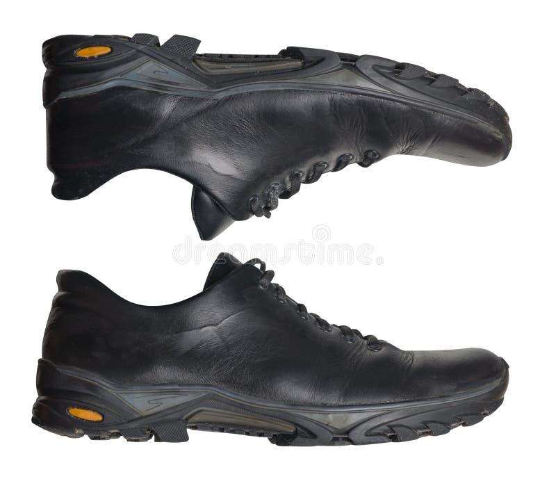 Παπούτσια δέρματος που απομονώνονται στο άσπρο υπόβαθρο παπούτσια λ δέρματος στοκ εικόνα με δικαίωμα ελεύθερης χρήσης