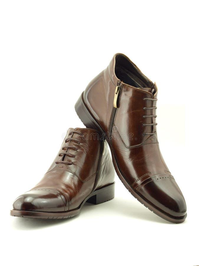 παπούτσια δερμάτων στοκ φωτογραφίες