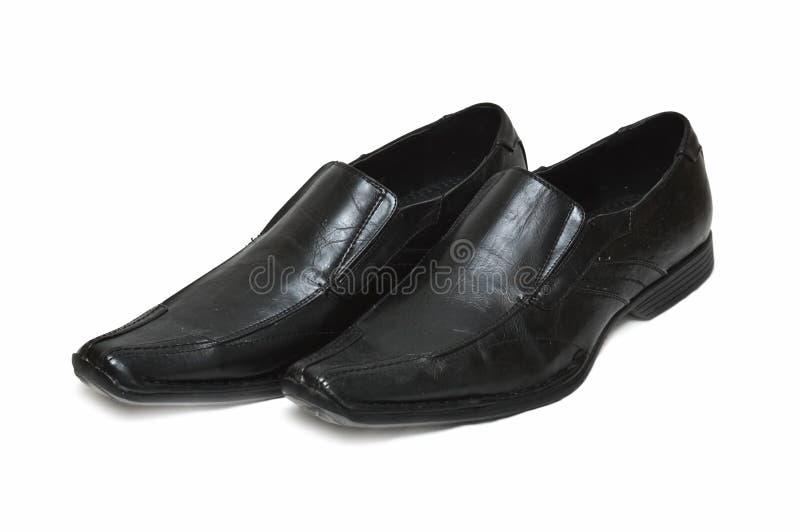 παπούτσια μαύρων στοκ εικόνες