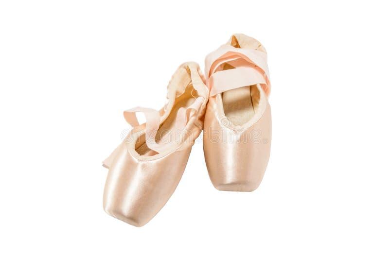 παπούτσια μπαλέτου pointe στοκ φωτογραφίες με δικαίωμα ελεύθερης χρήσης
