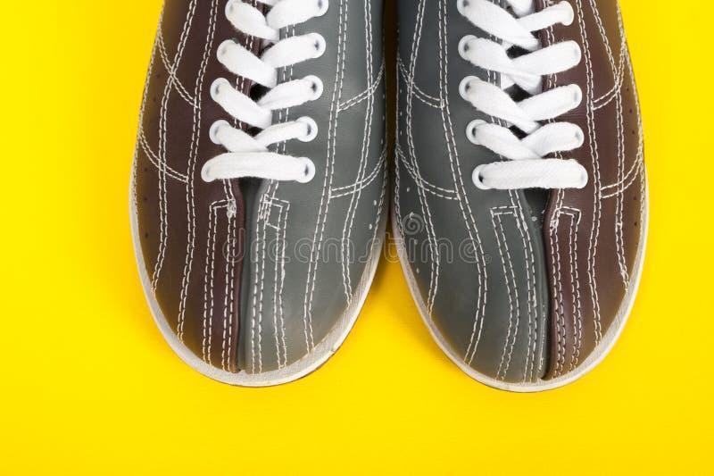 παπούτσια μπόουλινγκ στοκ φωτογραφία