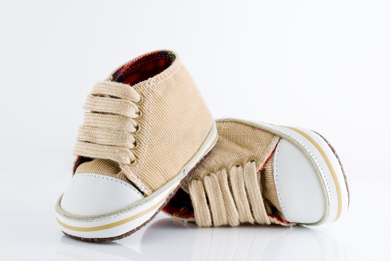 παπούτσια μωρών στοκ φωτογραφίες