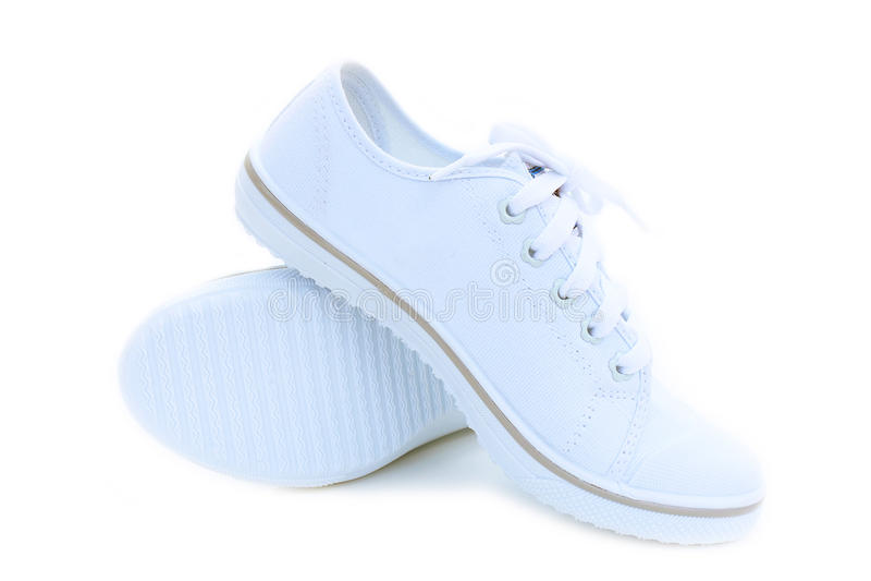 Παπούτσια σπουδαστών στοκ εικόνες