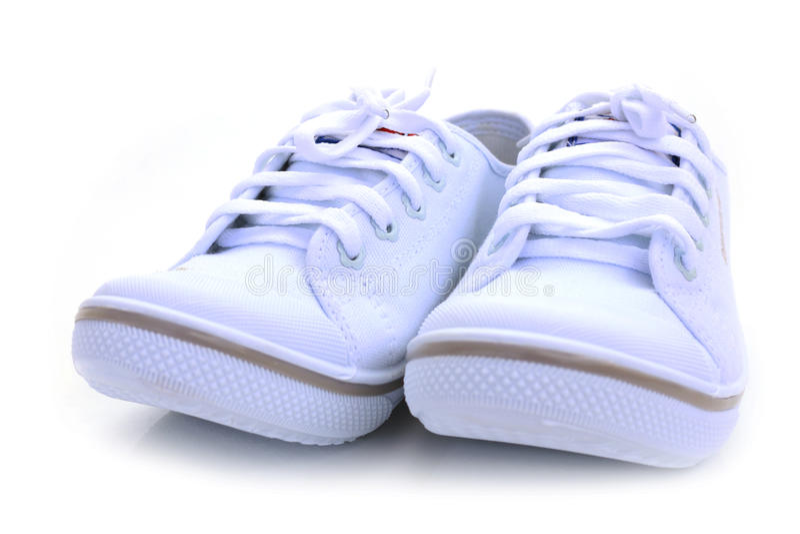 Παπούτσια σπουδαστών στοκ φωτογραφία