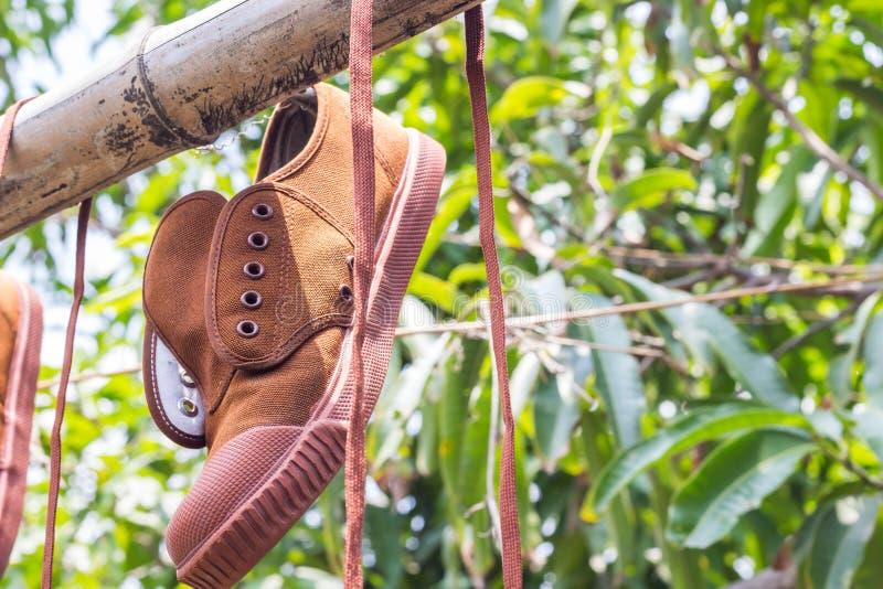 Παπούτσια σπουδαστών στοκ φωτογραφίες με δικαίωμα ελεύθερης χρήσης