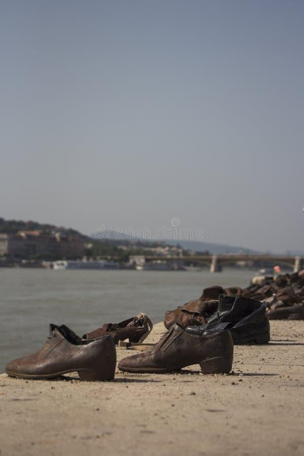 Παπούτσια της Βουδαπέστης στοκ εικόνες με δικαίωμα ελεύθερης χρήσης
