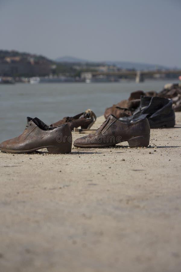 Παπούτσια της Βουδαπέστης στοκ εικόνες