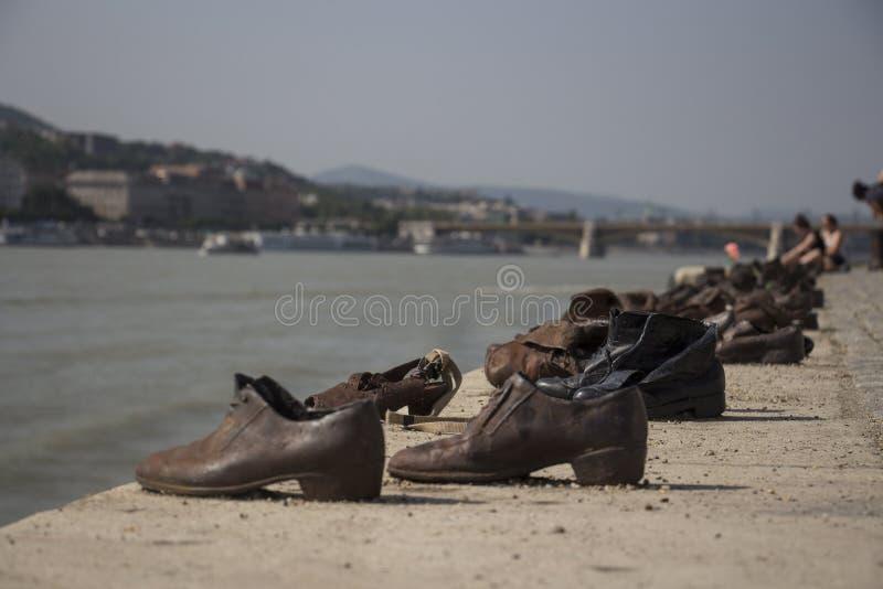 Παπούτσια της Βουδαπέστης στοκ φωτογραφία με δικαίωμα ελεύθερης χρήσης