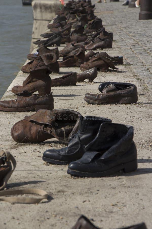 Παπούτσια της Βουδαπέστης στοκ εικόνα