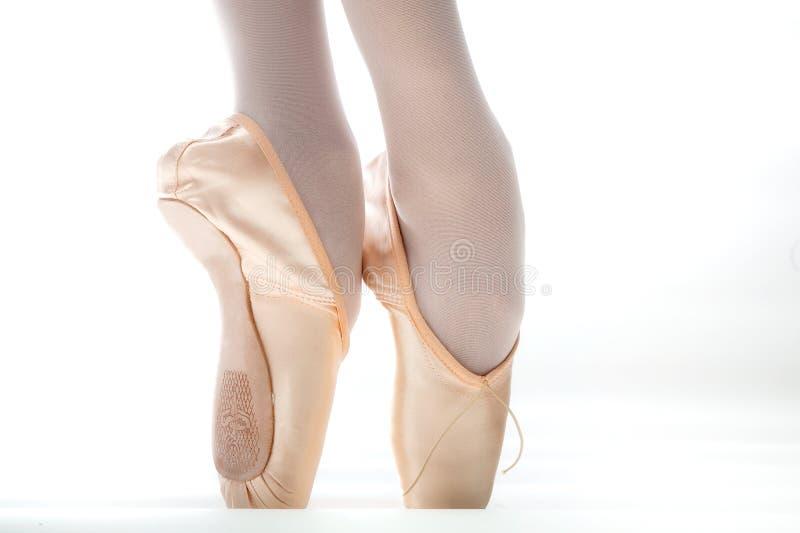Παπούτσι μπαλέτου στοκ φωτογραφίες