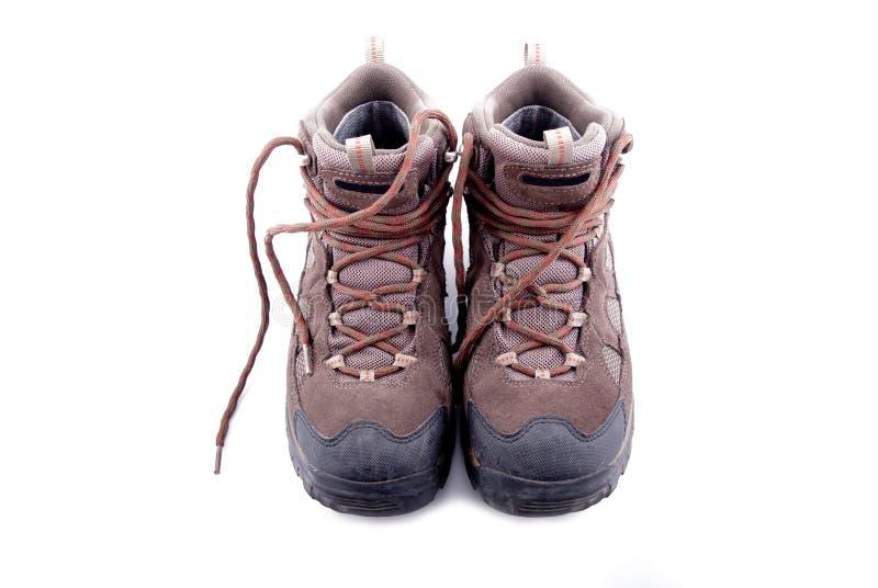 παπούτσι πεζοπορίας στοκ εικόνα