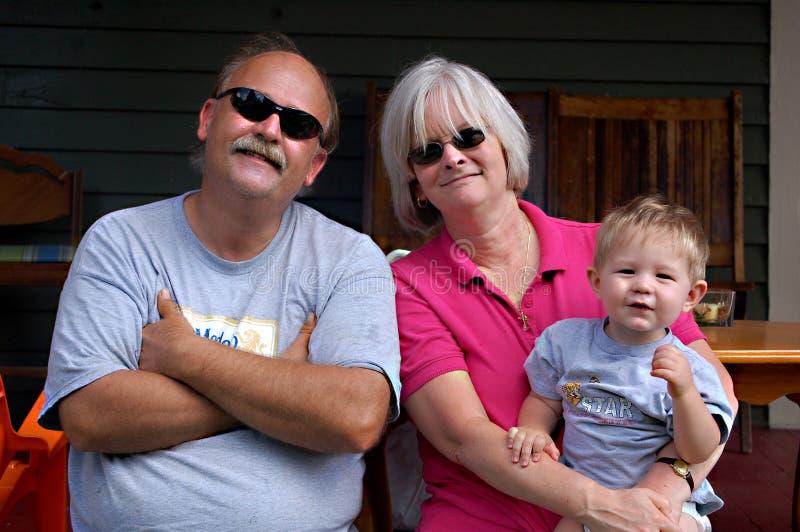 παππούδες και γιαγιάδες στοκ εικόνες με δικαίωμα ελεύθερης χρήσης