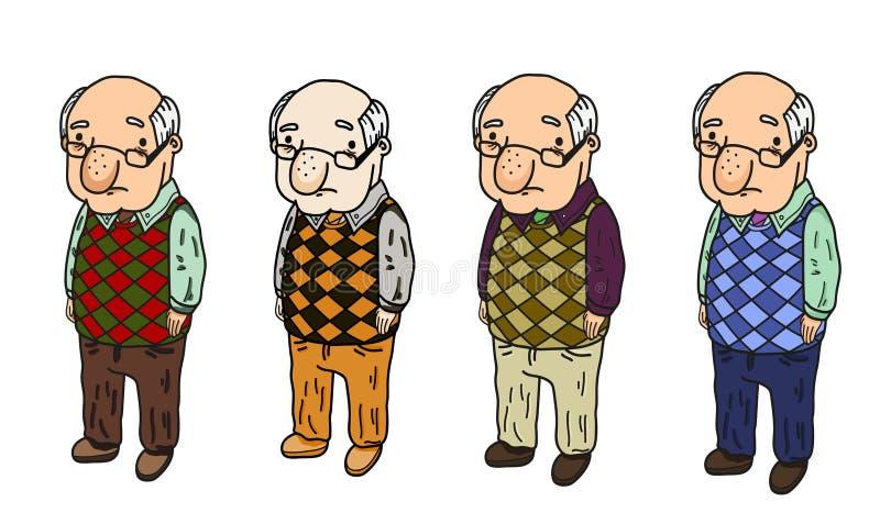 Παππούς ομάδας στοκ φωτογραφία με δικαίωμα ελεύθερης χρήσης
