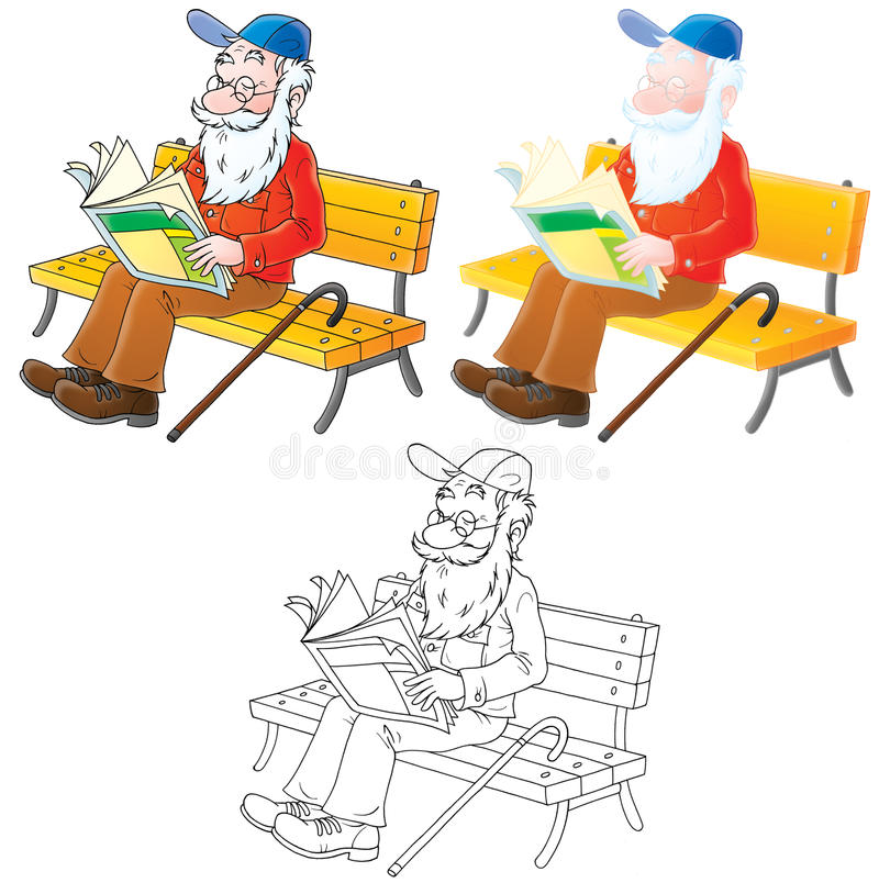 παππούς ελεύθερη απεικόνιση δικαιώματος