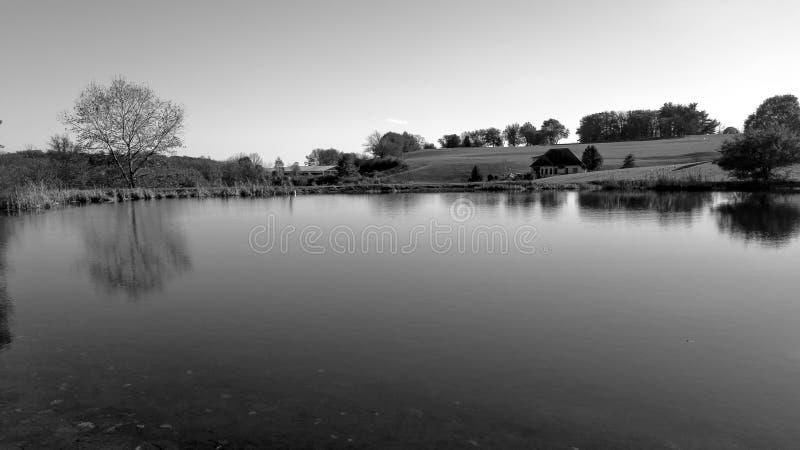 Παράβλεψη της λίμνης στοκ εικόνα