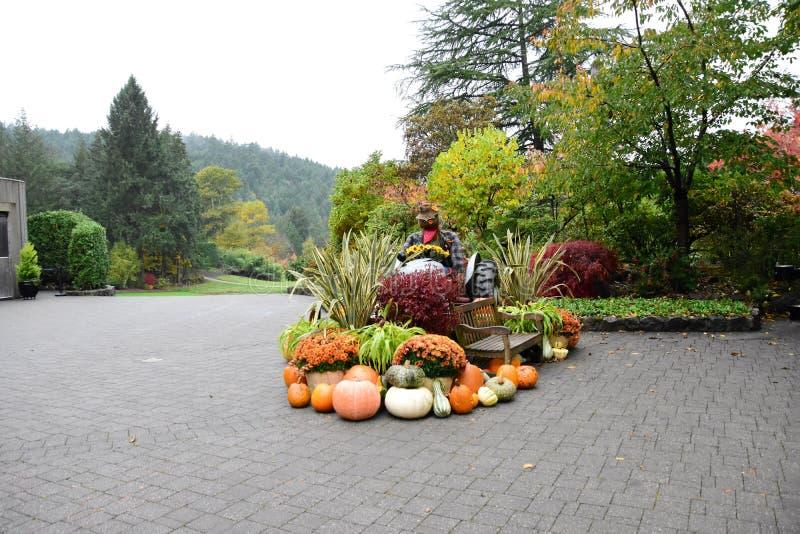 Παράγει από τη συγκομιδή πτώσης χρησιμοποιείται για να διακοσμήσει τον κήπο στοκ φωτογραφία με δικαίωμα ελεύθερης χρήσης