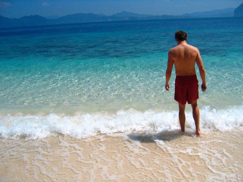 παράδεισος παραλιών ιδι&ome στοκ φωτογραφίες