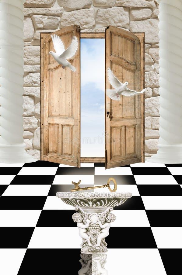 παράδεισος πορτών στοκ εικόνες με δικαίωμα ελεύθερης χρήσης