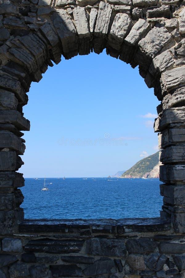 Παράθυρα στη θάλασσα στοκ εικόνες