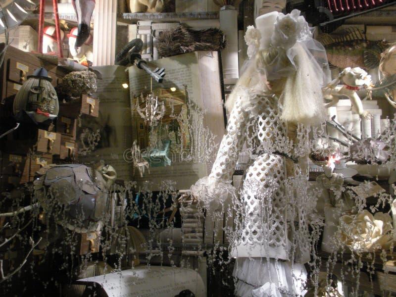Παράθυρο διακοπών Goodman Bergdorf, πόλη της Νέας Υόρκης, Νέα Υόρκη, ΗΠΑ στοκ φωτογραφία